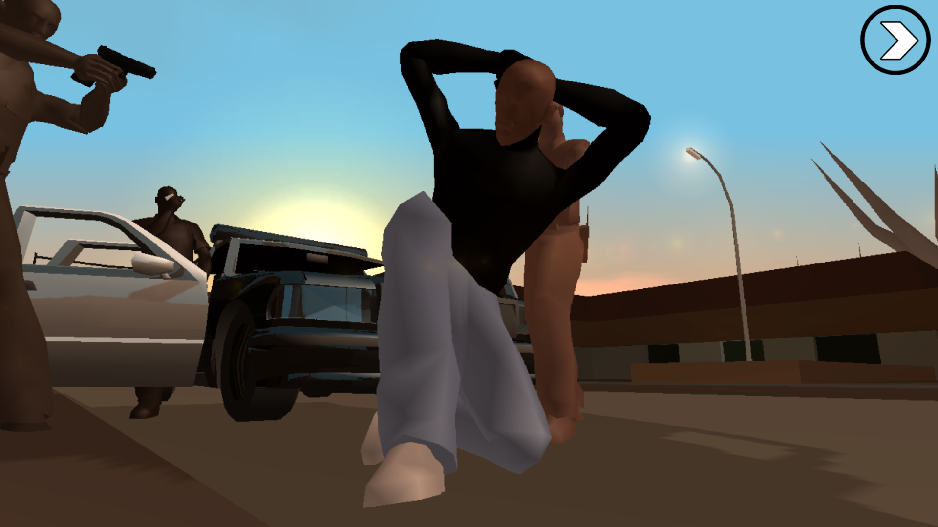 San Andreas Graphics not working right, images attached