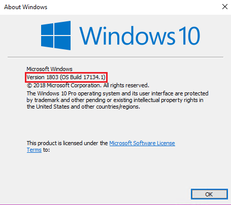 windows 10 creators update failed to validate product key