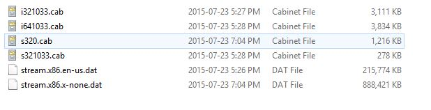 office deployment tool not downloading typical amount of cab files