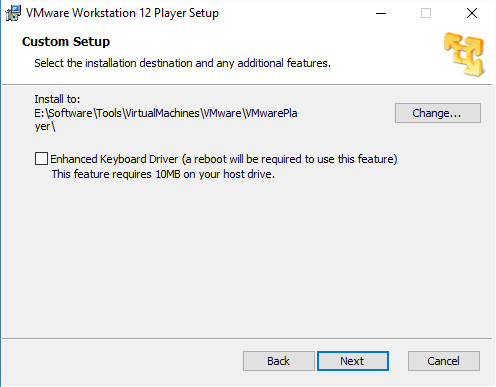 Install VMware Player virtual machines in Windows 10 - Microsoft