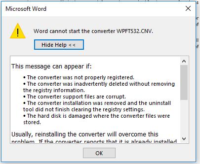 converter wpft632