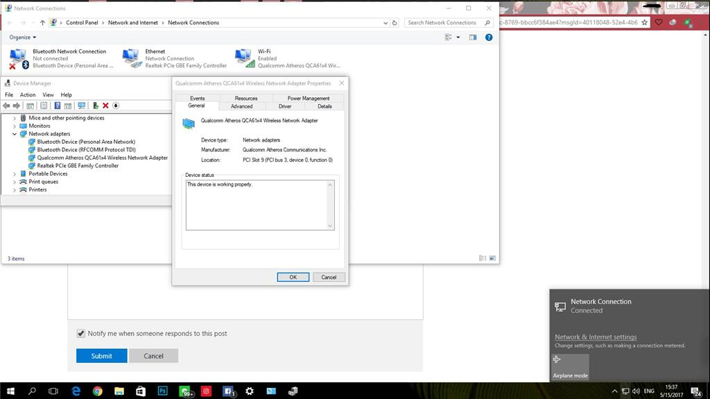 Accidentally Uninstalled WiFi Driver - Microsoft Community