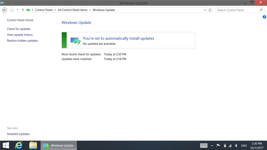 how to fix windows 8.1 update when it gets stuck