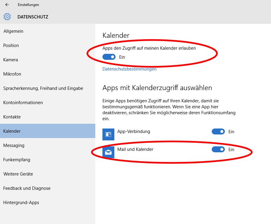 Windows 10 Mail App Synchronisiert Nicht