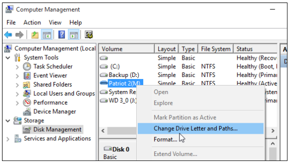 ASSIGNING DRIVE LETTER TO USB DRIVE PERMANENTLY - Microsoft Community