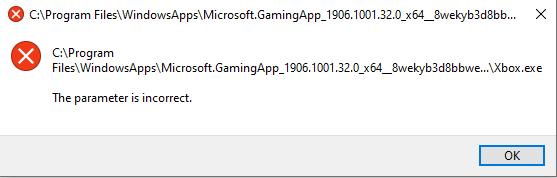 Cannot open xbox app beta [IMG]