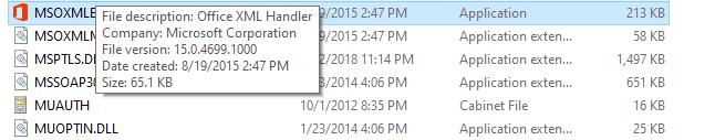 Office Xml Handler Microsoft Community