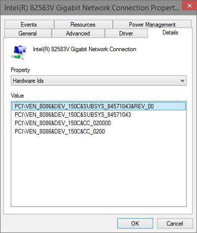 82579V Intel Gigabit Ethernet on P8P67PRO 3 1 ASUS