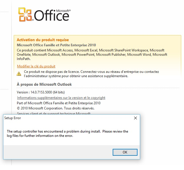 Perte de l 39 activation office 2010 lors de la migration de windows microsoft community - Office de migration internationale ...