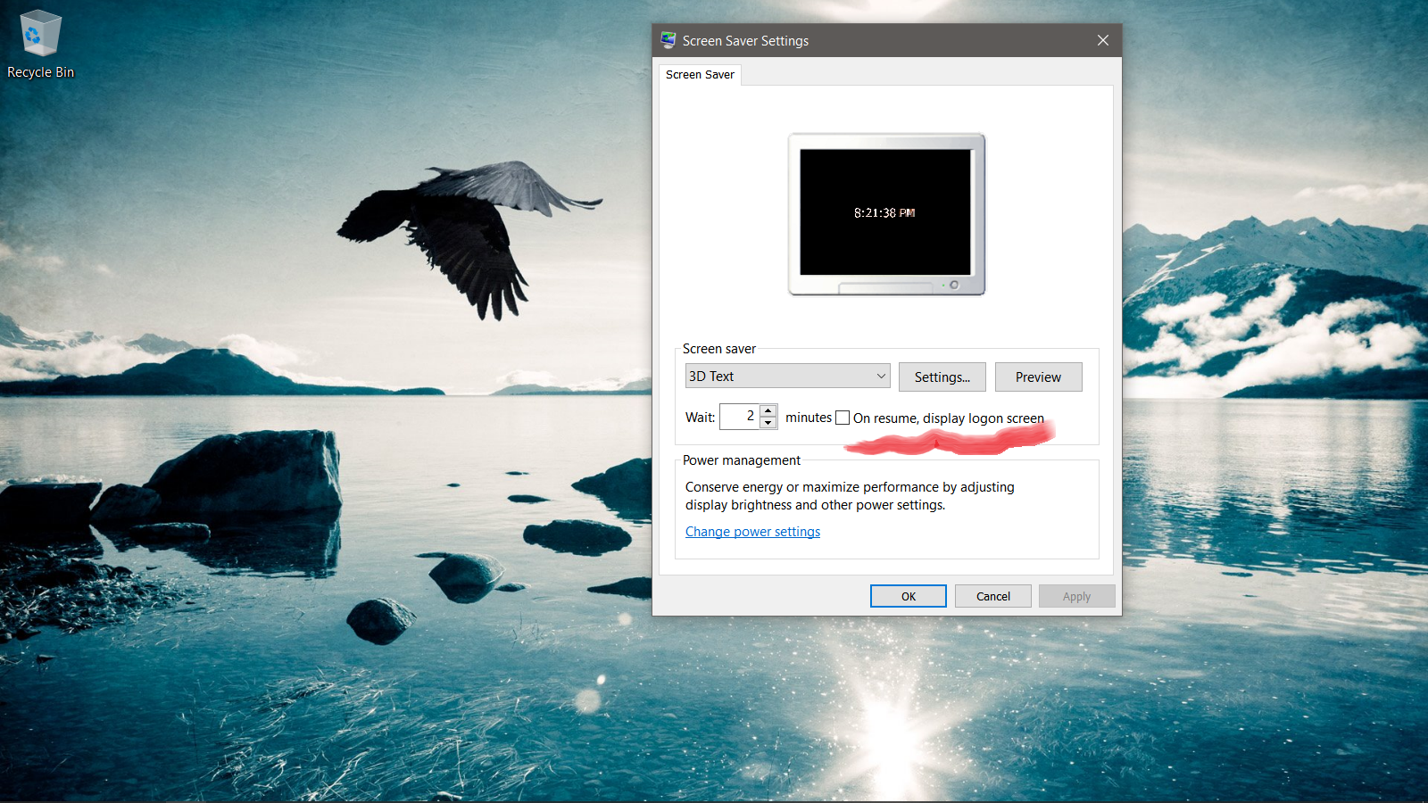 Windows 10: PC goes to lock screen after 2 minutes - Microsoft Community