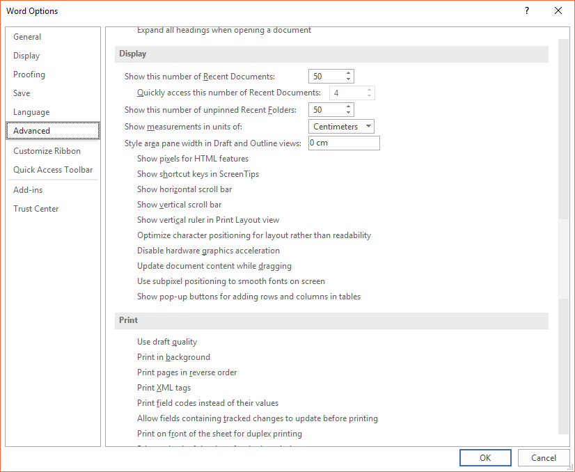 Office 2016 UI graphical issues - Microsoft Community