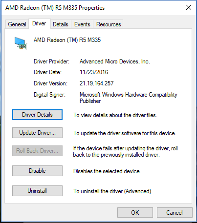 Windows Update download and installs outdated driver
