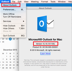 Outlook For Mac Version