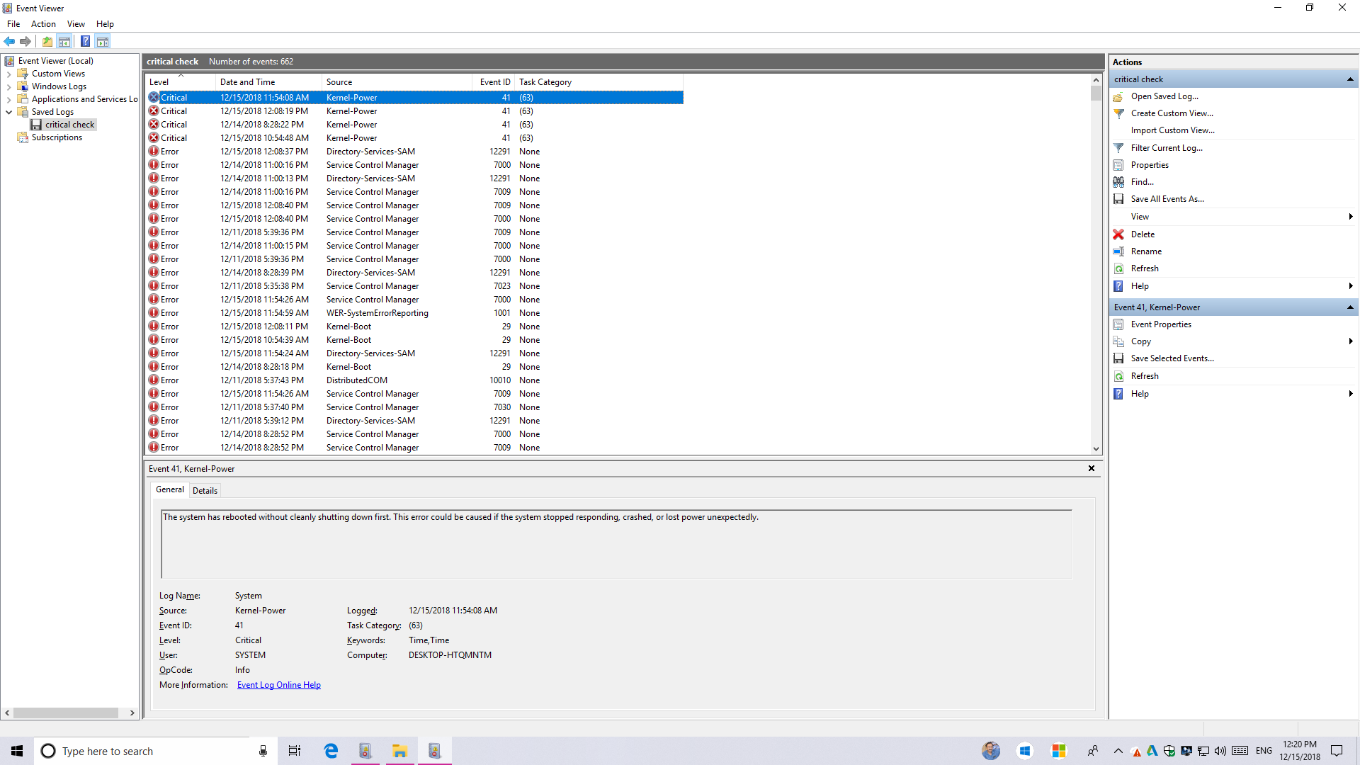 Kernel Security Check Failure : Windows 10 - Microsoft Community