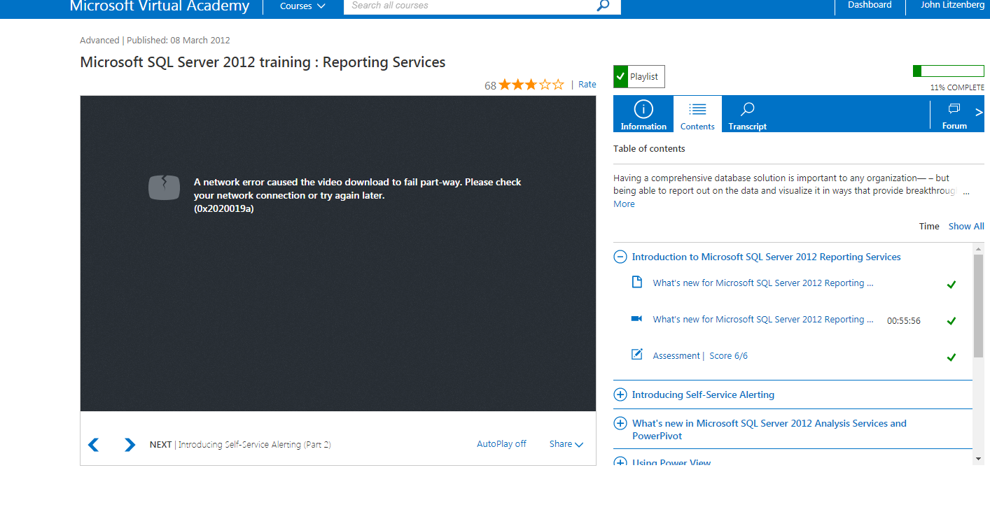 Error loading sql reporting services training but other courses image 1betcityfo Gallery