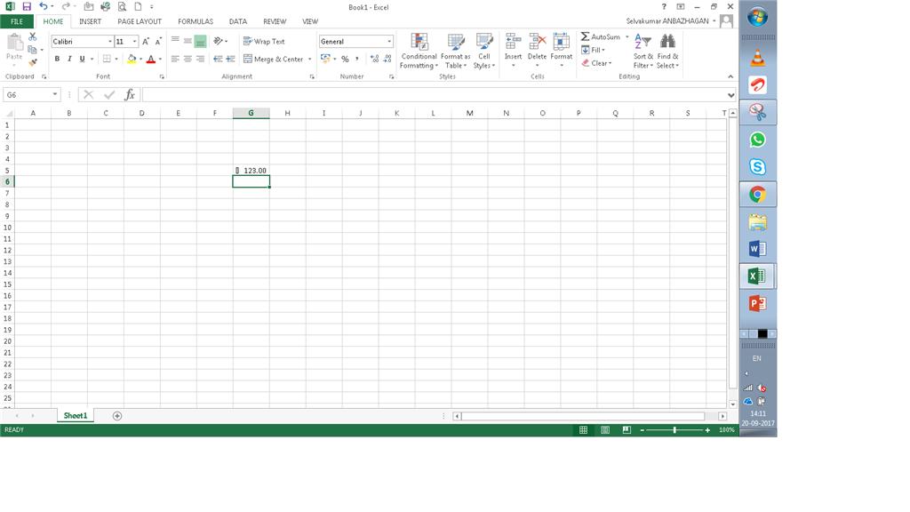 Rupee Symbol Error In Excel 2013 Microsoft Community
