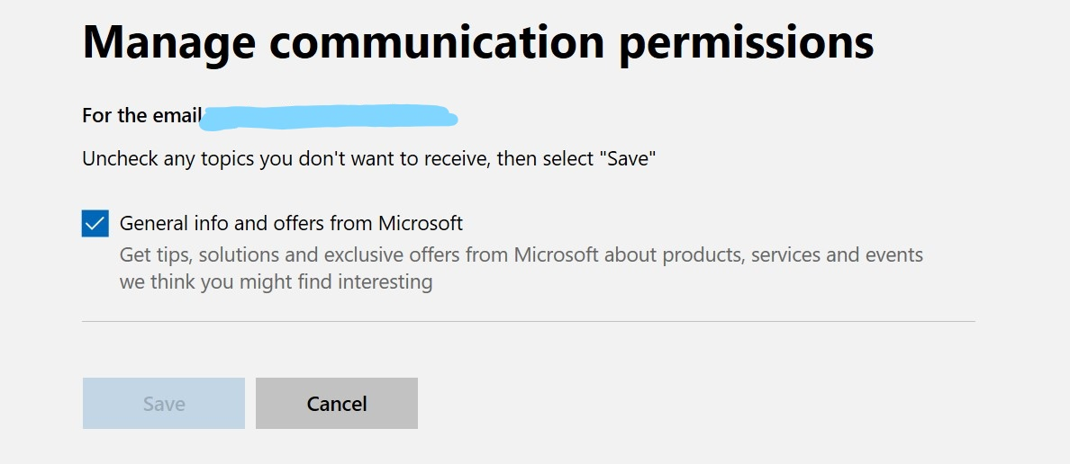 How to manage communication permissions - Microsoft Community
