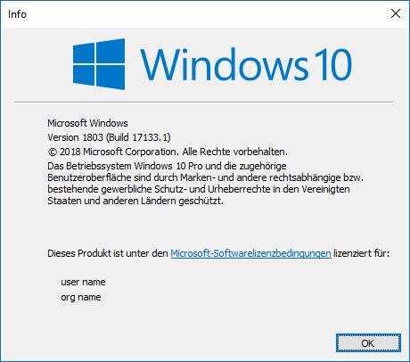 System friert nach ca 10 Minuten ein (plus Updateproblem mit KB4088776)