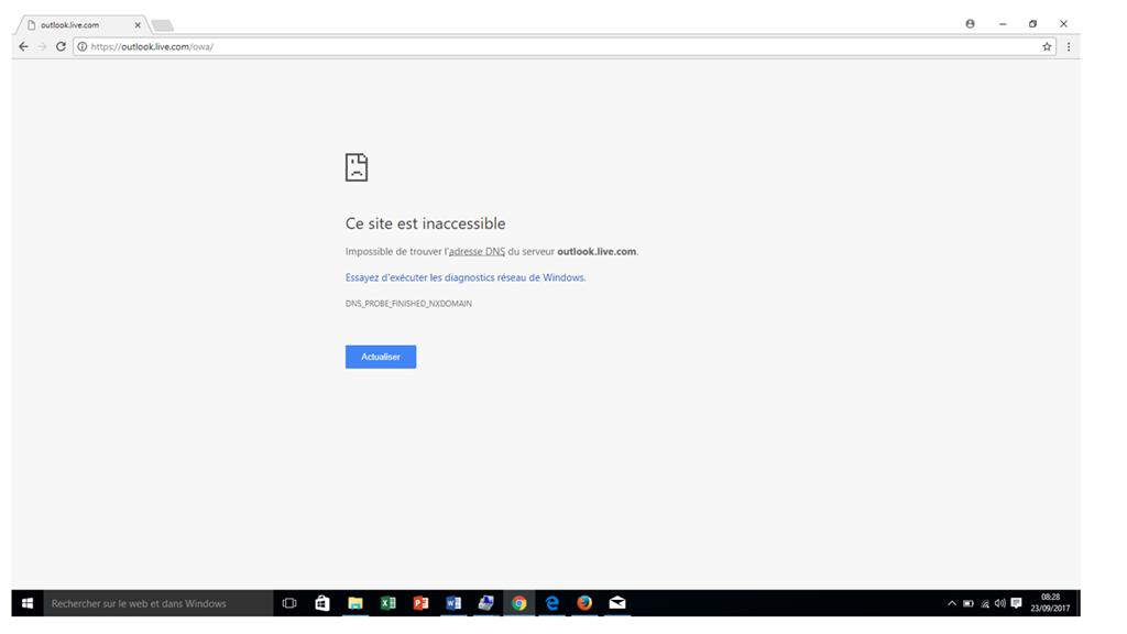 Accès au Webmail impossible - Microsoft Community