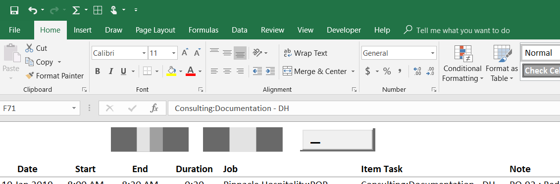 Can't click ActiveX CommandButtons in Excel 2016 and they