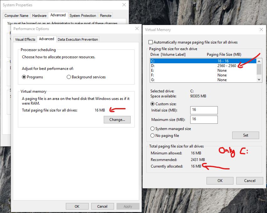 october windows 10 update size