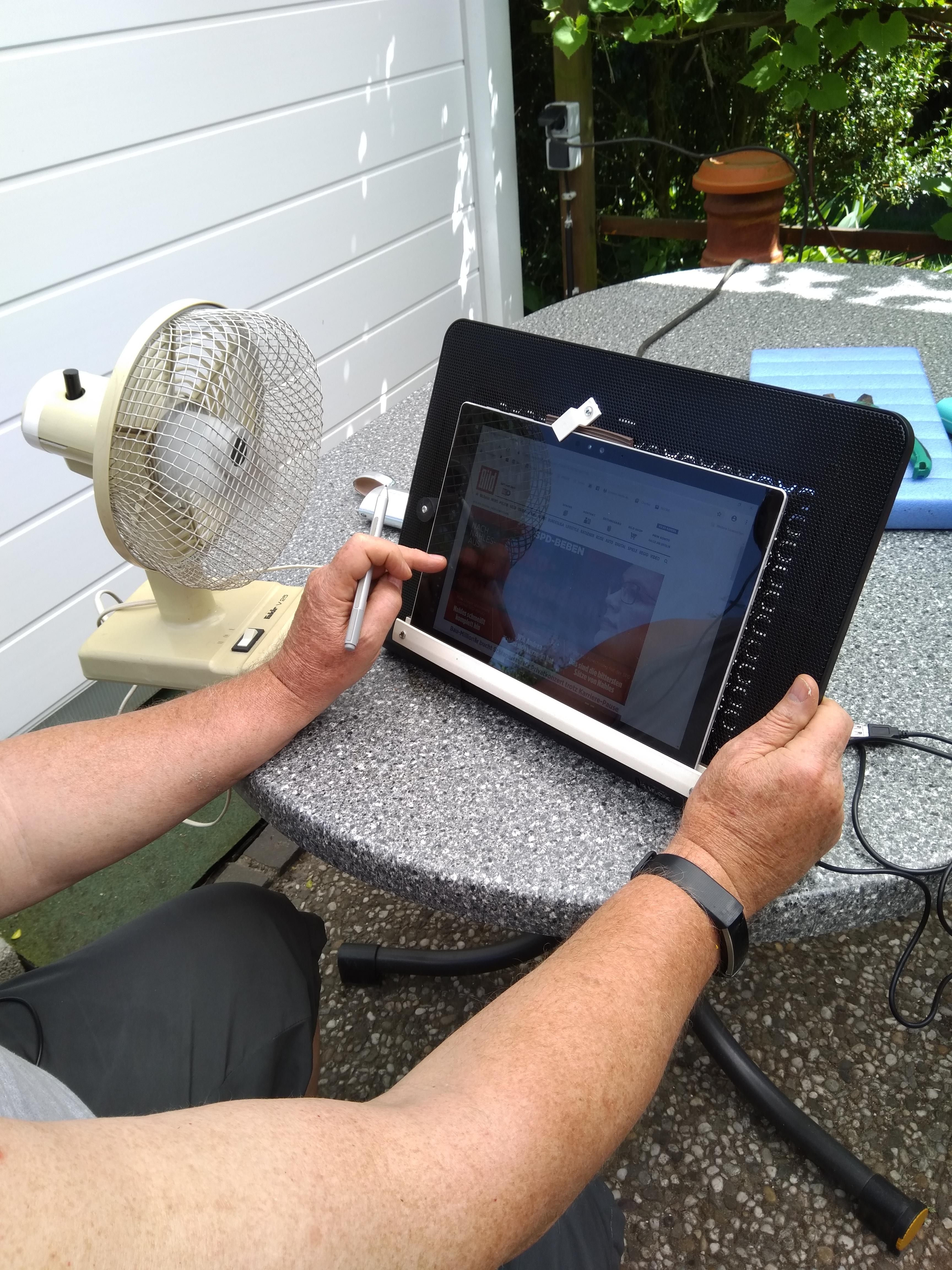 Wärmeprobleme Surface Pro4