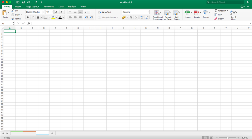 Sheet Names In Excel 2016 For Mac Appear Blank Microsoft