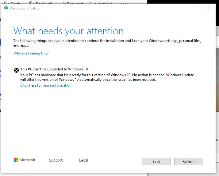 Media Creation Tool Error 0x80042405 0xA001B - Microsoft Community