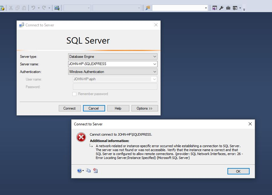 Accessing My Sql Server Database Training Certification And