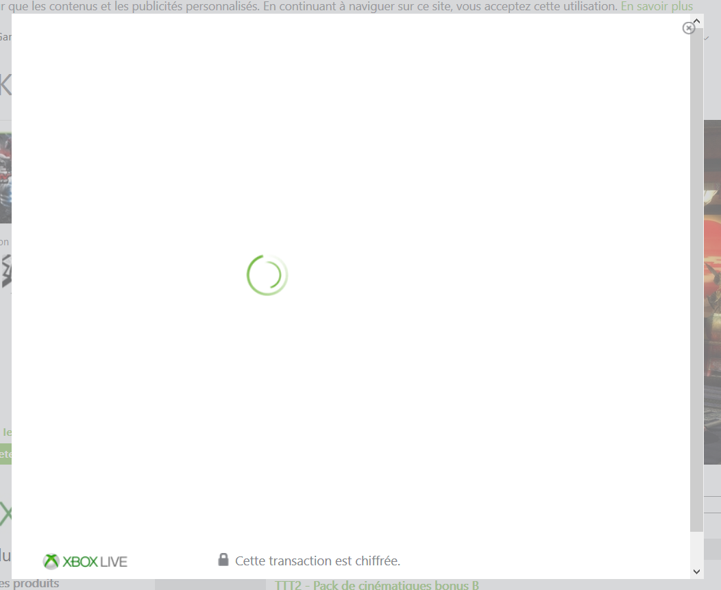 Payment transaction keeps loading forever [IMG]