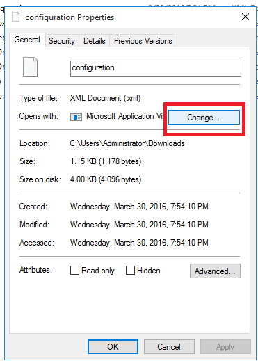 open xml with excel 2016by default microsoft community