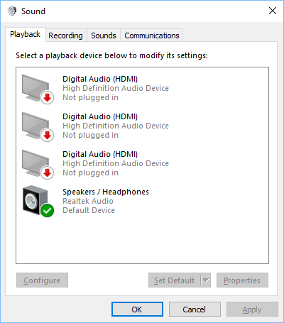 computer no sound from speakers or headphones