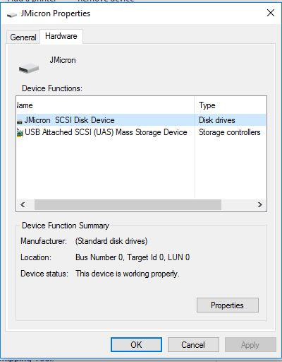 External Hard Drive not showing up in Windows 10 File Explorer
