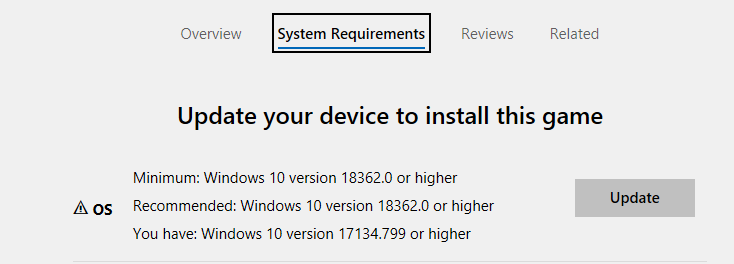 Microsoft Store: Cant install games [​IMG]