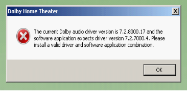 Dolby Audio Drivers for Dolby Home Theatre on Laptops - Microsoft