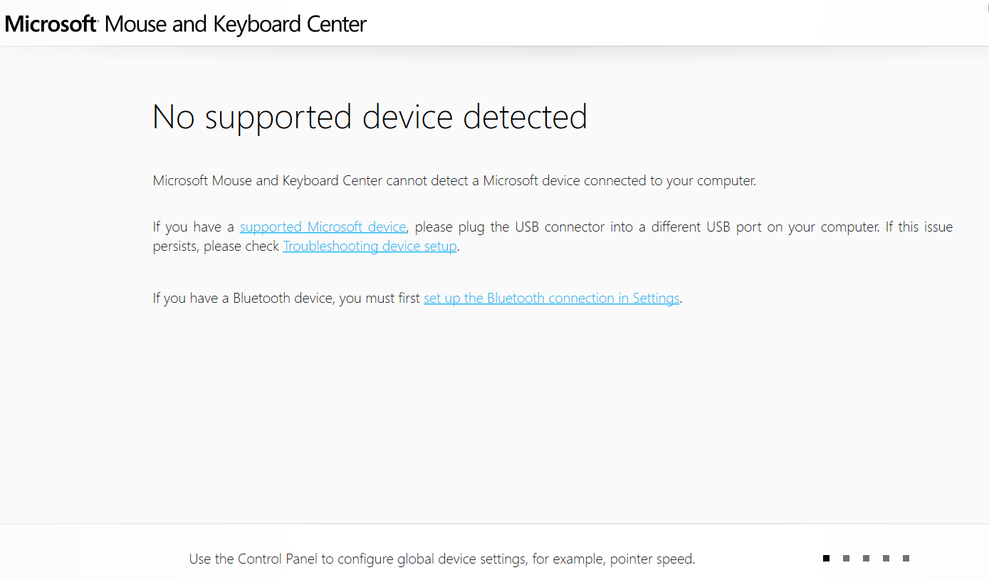 microsoft mouse and keyboard detection driver usb failed windows 10