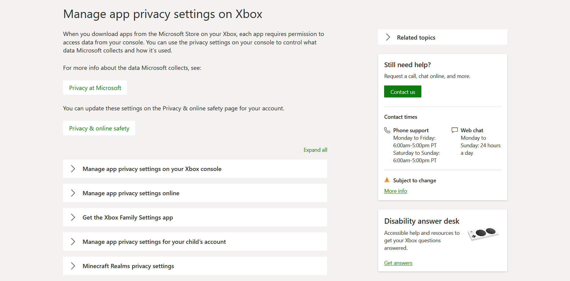Privacy Setting for Minecraft Realms - Microsoft Community