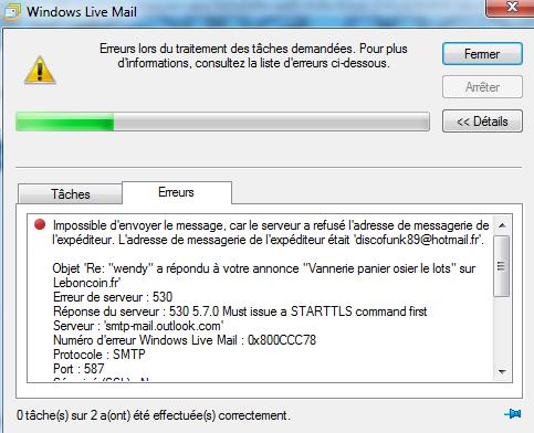 Accueil » Logiciels » Windows » Windows Live Mail » Petite mise à jour pour Windows Live Mail 20 août 2009 5 commentaires 14.0.8089.0726 : c'est le numéro de la version de Windows Live Mail, que Microsoft a mis en ligne aujourd'hui.