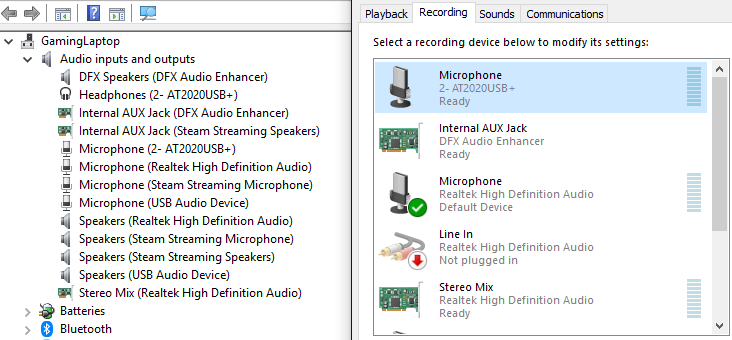 All Microphones working, but not working  - Microsoft Community