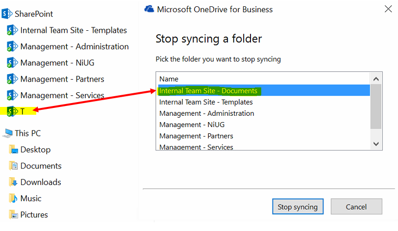 Mysterious Renaming of Synced SharePoint Root Folder Name
