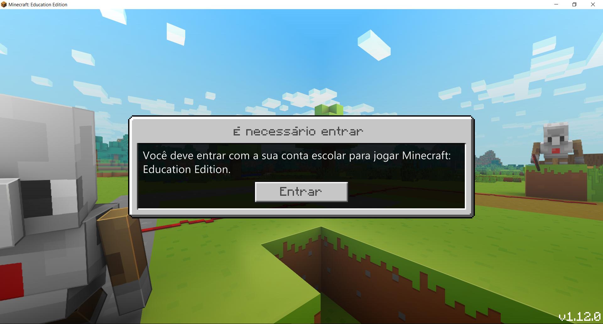 Acesso ao Minecraft education. - Microsoft Community
