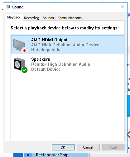 HDMI Sound - Microsoft Community
