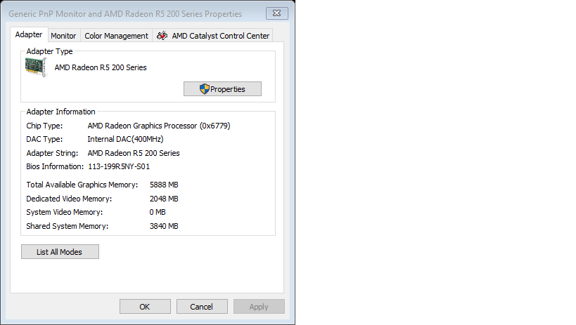 problem with dedicated video memory - Microsoft Community