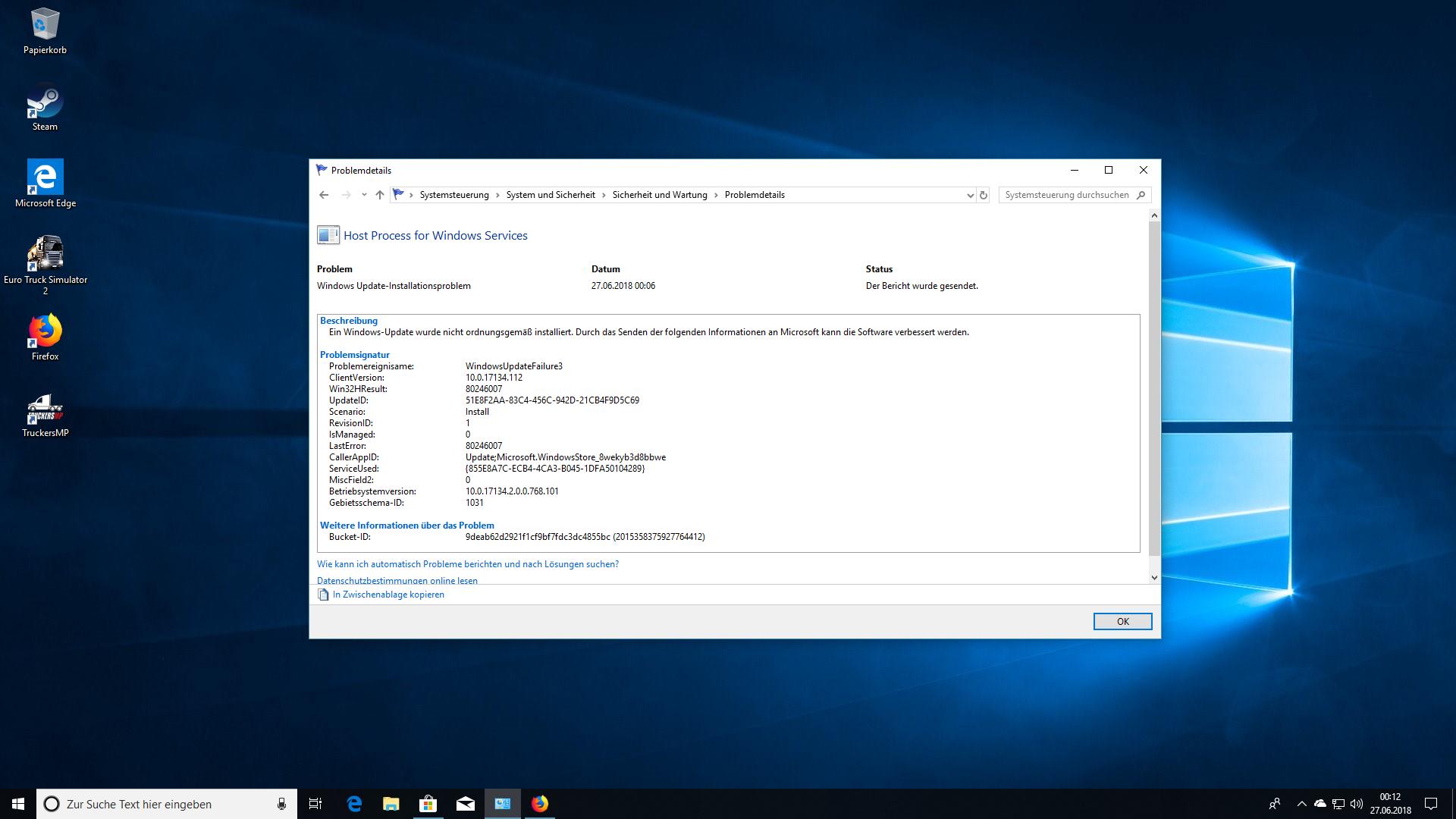Host Process für Windows Services