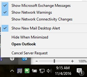 Outlook 2016 No Longer Alerts For New Email - Microsoft